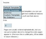 Page Template List