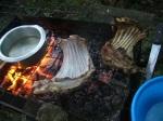 goat_choma_ribs_cooking